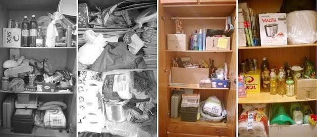 organização de ambientes: antes e depois da categorização dos ambientes