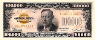 Real Money circa 1932