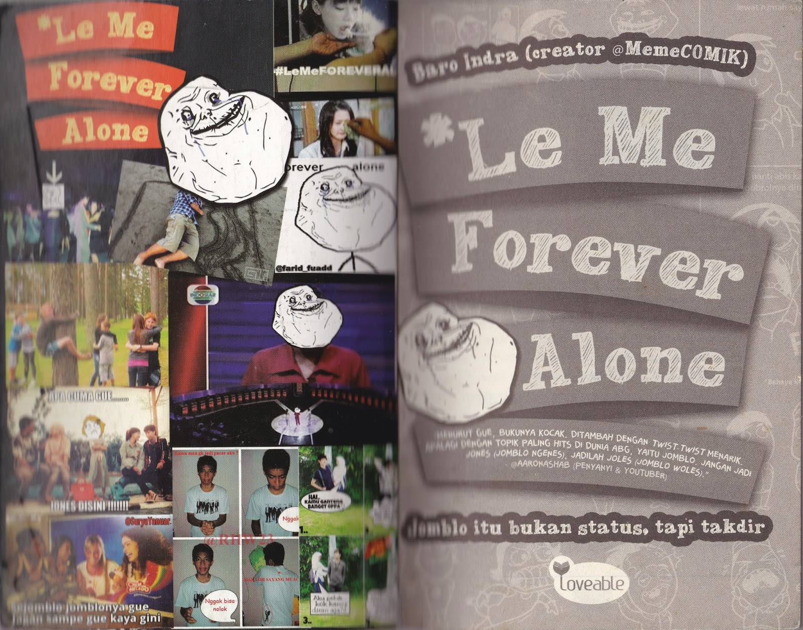 Review Buku 'Le Me Forever Alone' | Az World