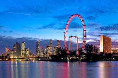 tempat wisata di singapore, tempat wisata di singapura, roda raksasa, pemandangan di singapura, jalan-jalan di singapura