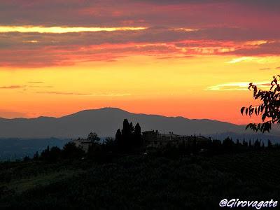 tramonto Toscana