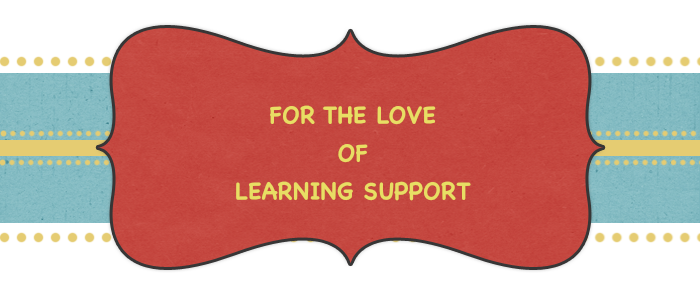 FOR THE LOVE OF LEARNING SUPPORT