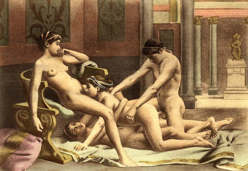 Смотреть секс древних людей