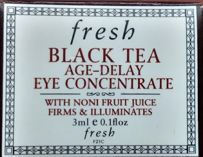 Fresh Black Tea Age Delay Eye Concentrate box