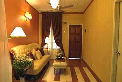 desain dekorasi ruang tamu kecil rapi indah dan nyaman
