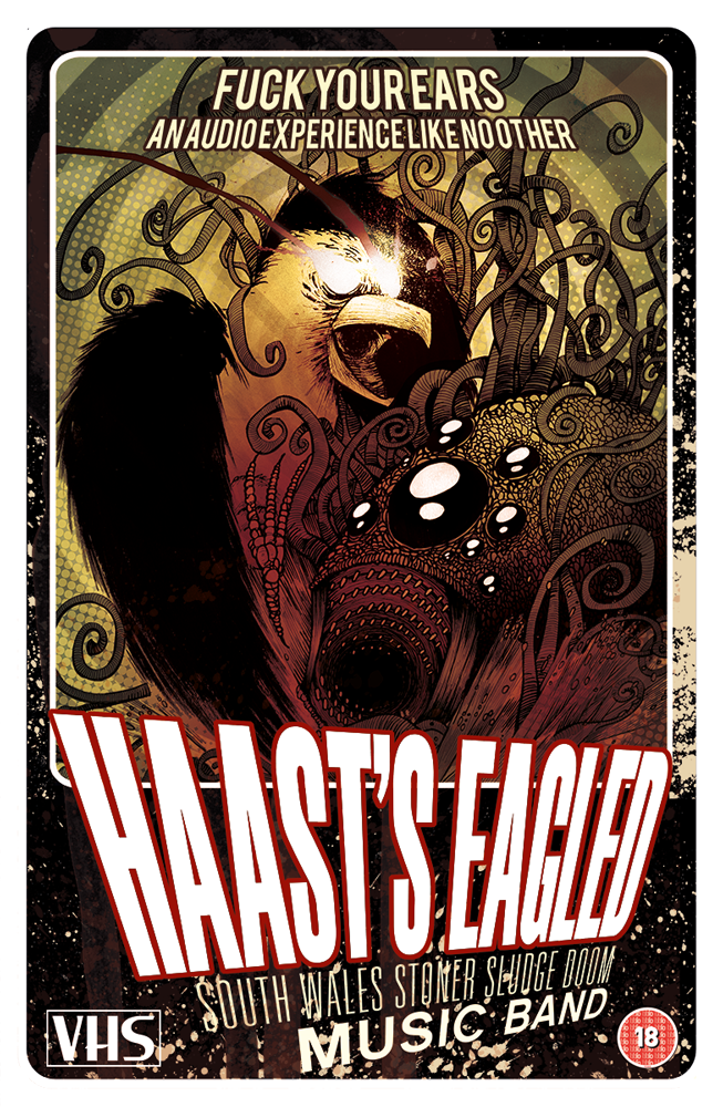 Haast's Eagled Doom Metal band poster