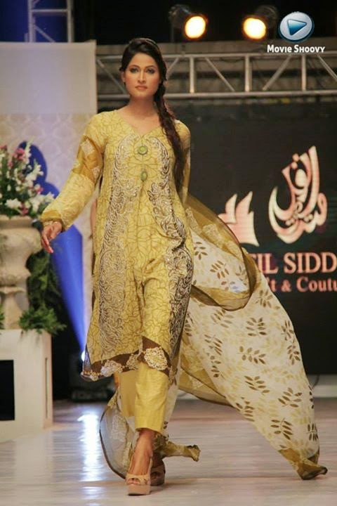 Nofil Siddiqui Lawn Collection 2014 Launch