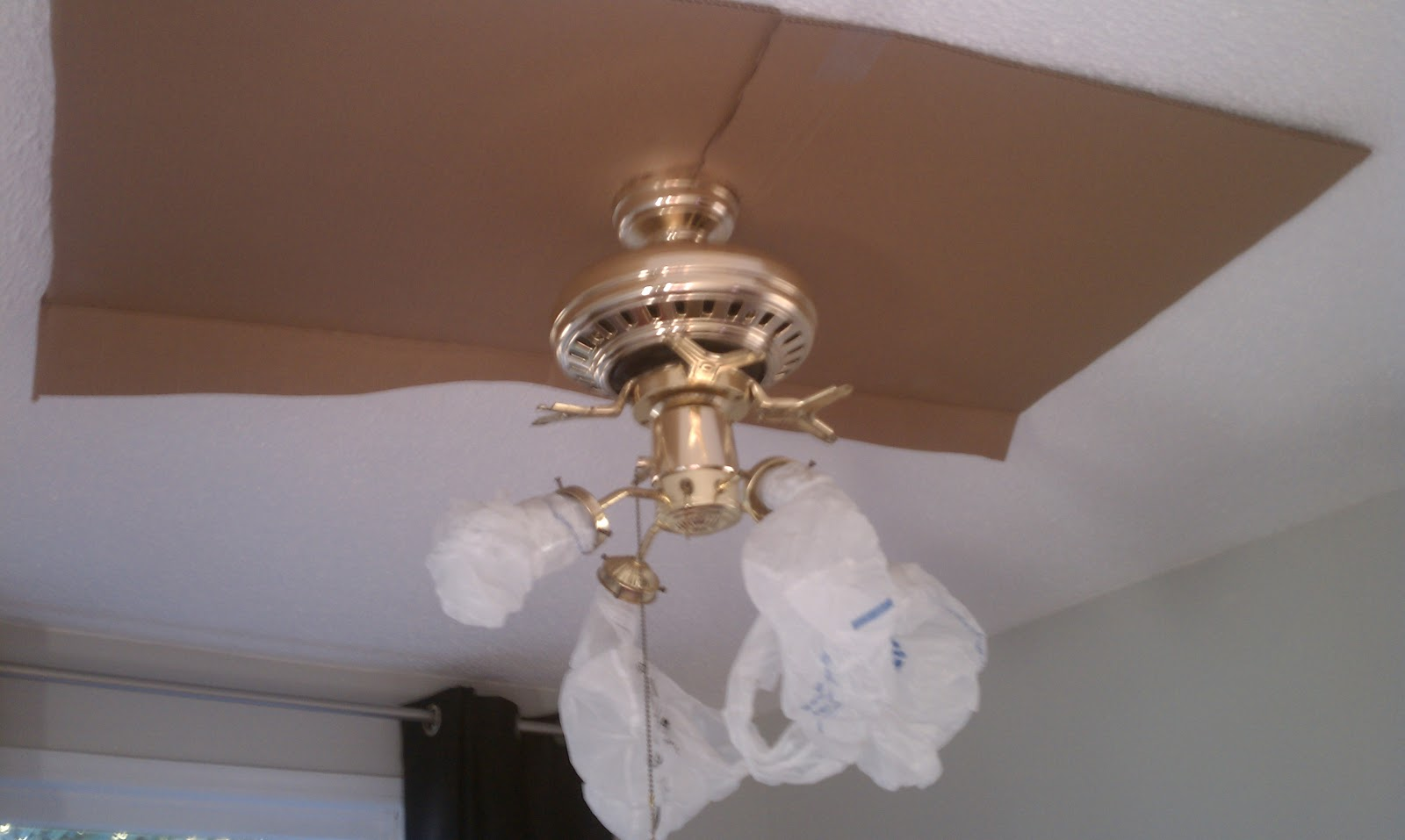 Build A Ceiling Fan : Nadia s diy projects ceiling fan makeover
