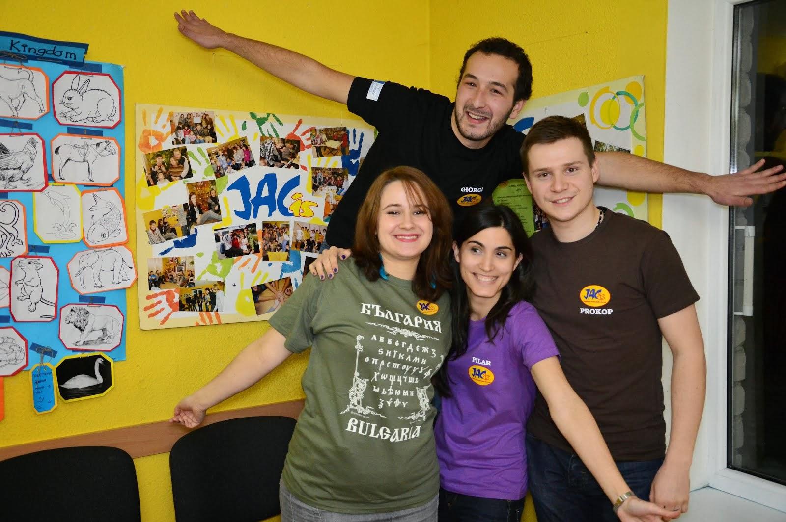 JACis EVS volunteers