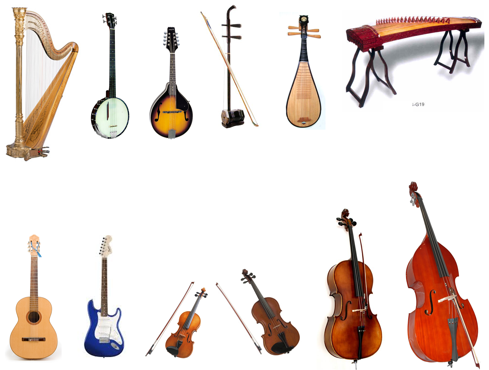 Image Gallery names of string instruments