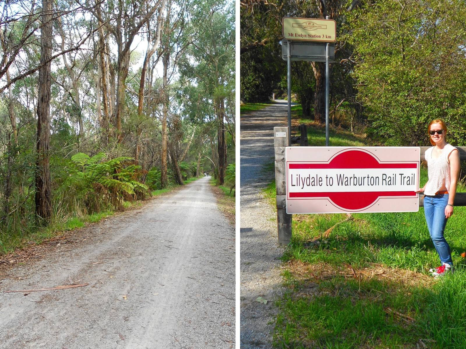 Riding The Lilydale To Warburton Rail Trail The Rogue Ginger - Us rail trail map
