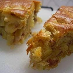 The Batenchuckle: Desserts - Apple Pecan Cobbler