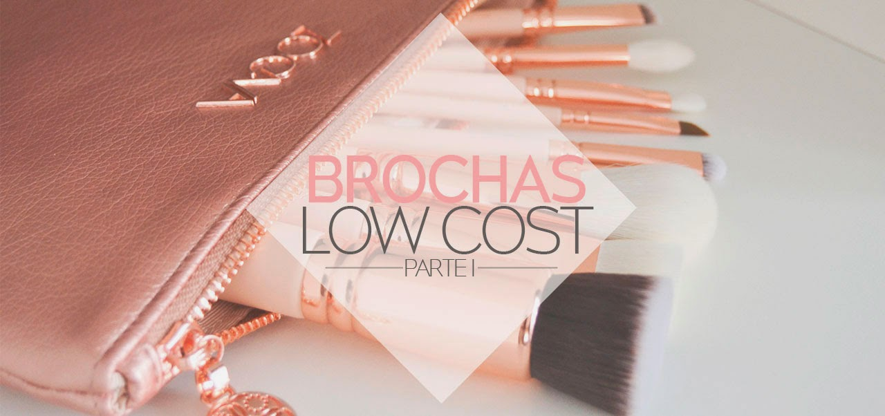 BROCHAS MAQUILLAJE LOW COST