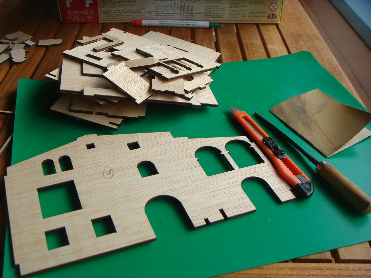 Simplementeaficiones maqueta construcci n paso a paso for Construccion de casas paso a paso