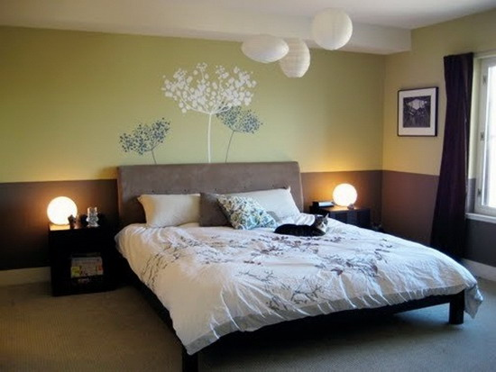 The best bedroom colors for couples romantic modern for Minimalist bedroom colors