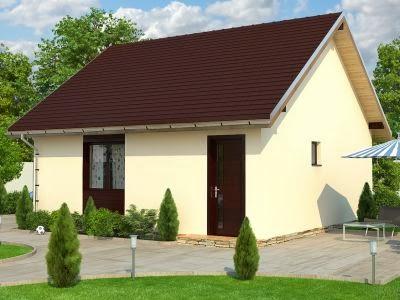 Casa de lemn EcoKit Buget MINI