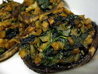 Spinach-Stuffed Mushrooms - Photo by Michelle Judd of Taste As You Go