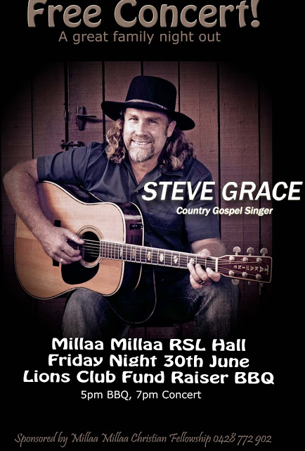 Steve Grace Concert