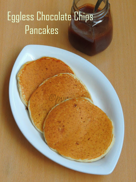 Eggless Pancakes with Instant Pancake Mix