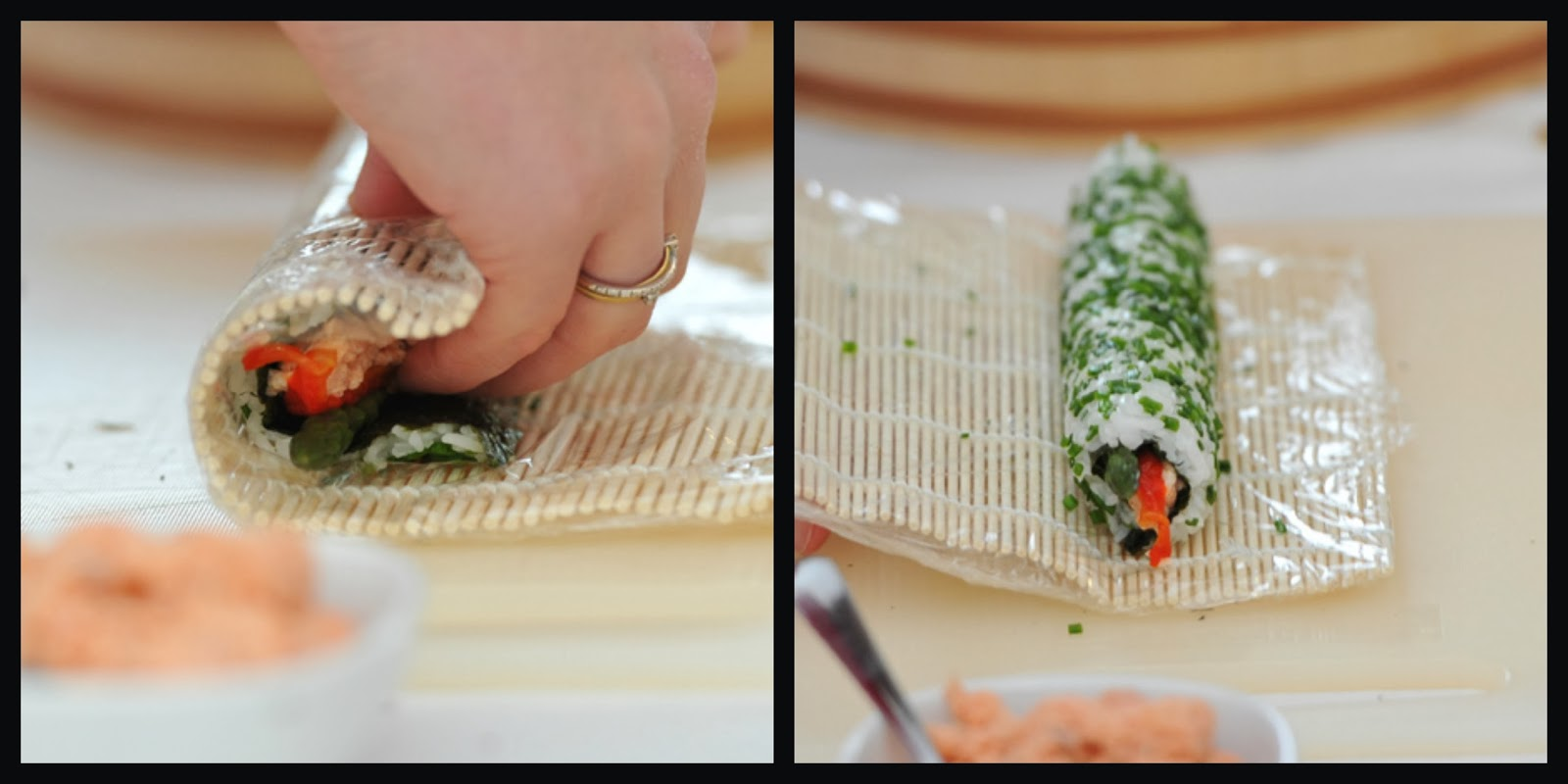 Fiona 39 s japanese cooking sushi the ultimate christmas for Canape canape canape