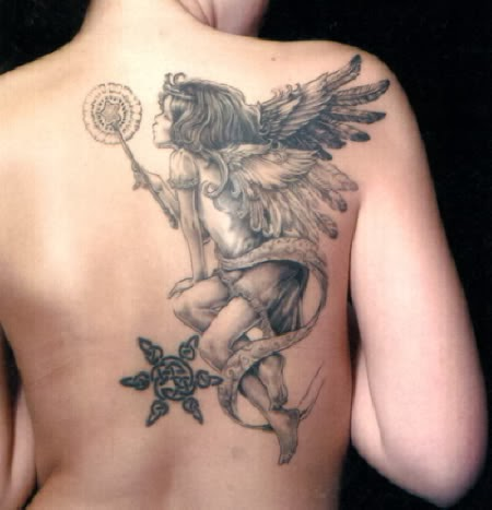 fashionable best angel tattoos