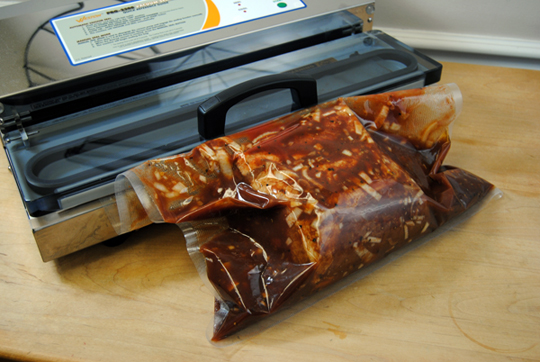 once youu0027re ready to smoke the roast soak apple woodchips for at least a half hour in the meantime preheat your weston smoker to degrees f once - Weston Vacuum Sealer