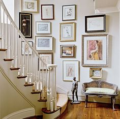 Eye For Design: Decorating With Salon Walls.....French Art Gallery Style