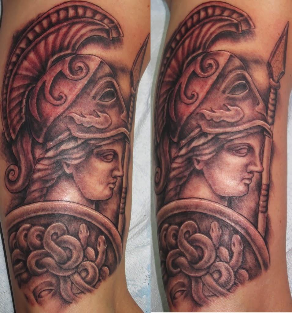 Athena Symbol Tattoo Design The Athena Tattoo Art