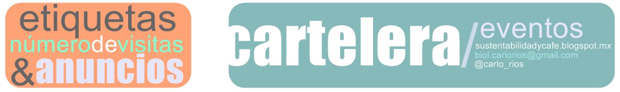 Sección de Carteleras, etiquetas, anuncios y más.