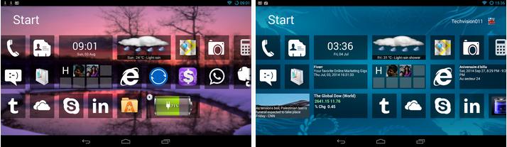 Home 8+ like Windows8 Launcher v3.8.1 APK