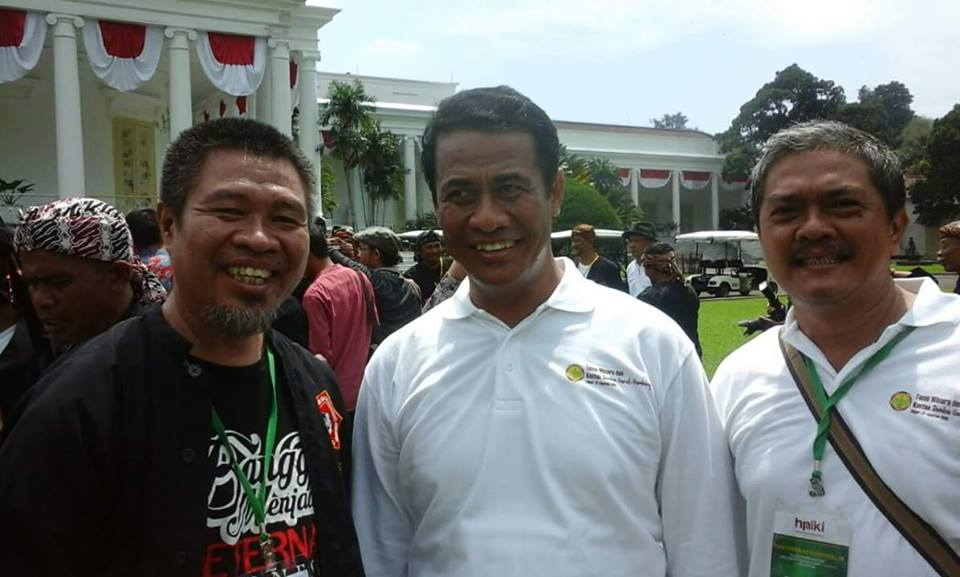 With Bpk Amran Menteri Pertanian