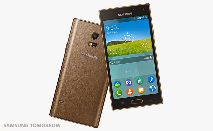first Tizen smartphone - Samsung Z