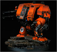 Dreadnought de los tigres astrales para Warhammer 400000