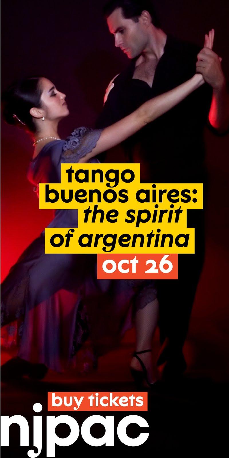 Tango at NJPAC