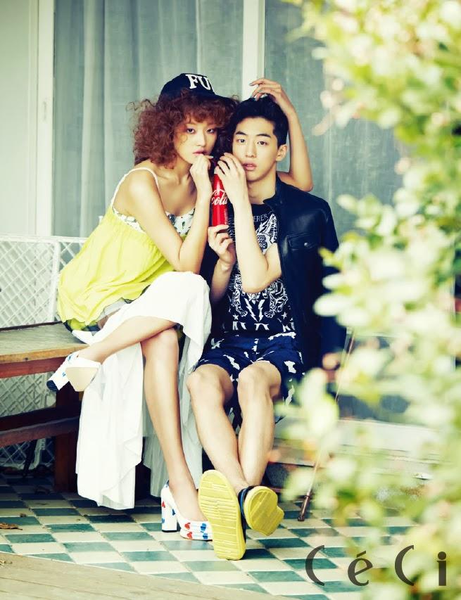 Choi Ara and Nam Joo Hyuk - Ceci Magazine February Issue 2014