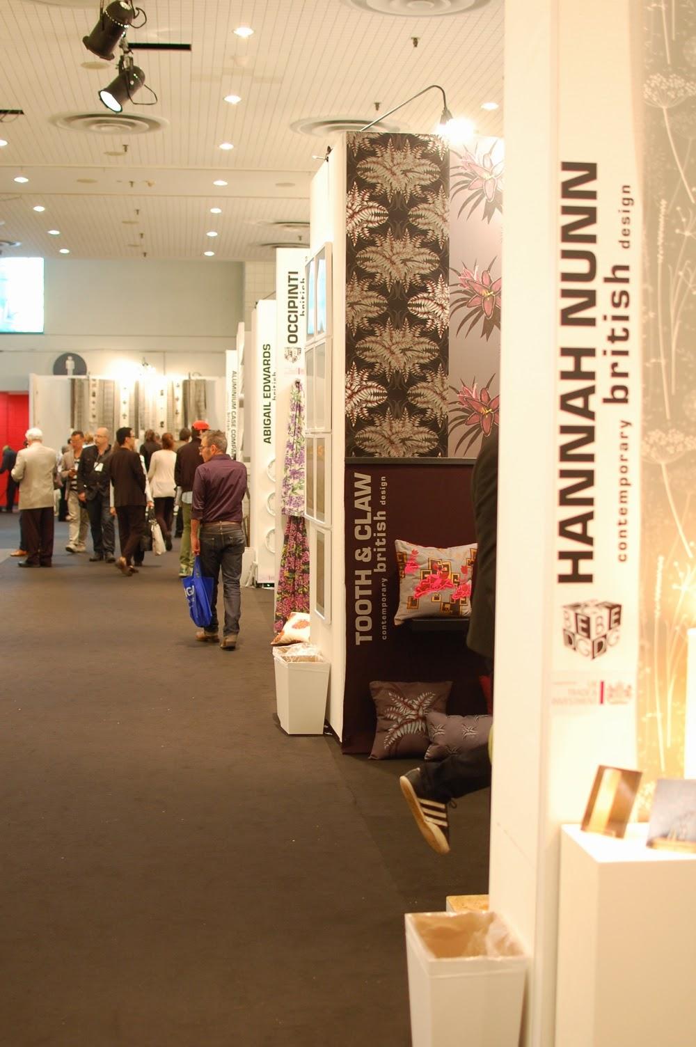 Hannah nunn icff for Icff exhibitors 2014