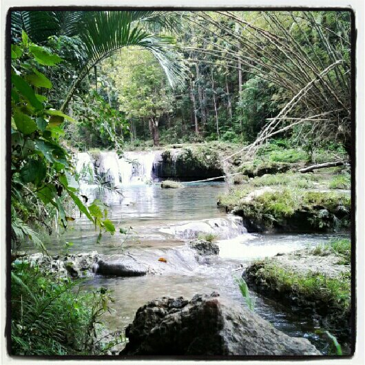 Philippines, siquijor, falls, cambugahay