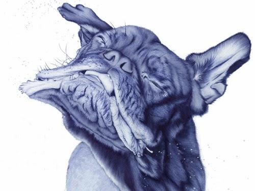 07-Dog-2-Sarah-Esteje-ABADIDABOU-Hyper-realistic-Ballpoint-Pen-Animals-www-designstack-co