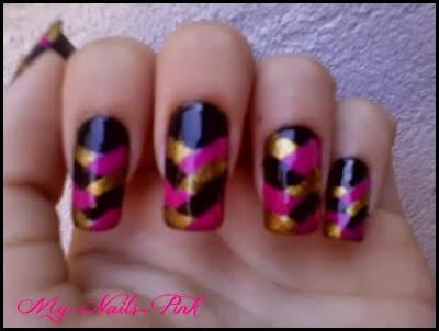 Unhas Trançadas, Braided Nails