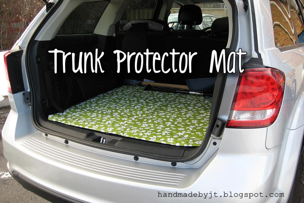 My Handmade Home Diy Trunk Protector Mat