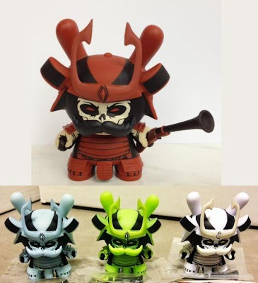 First Look: Jon-Paul Kaiser's Dunny Series 2012 Mystery Design