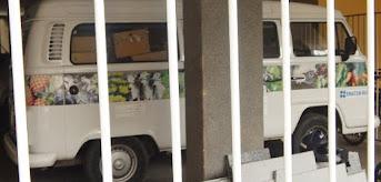 Kombi misteriosa da secretaria estadual de agricultura intriga moradores do Edifício Lamônica