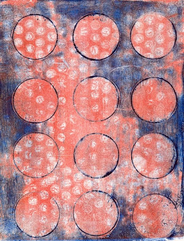 Gelli plate print