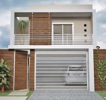 Mi casa mi hogar fachadas casas peque as - Entradas para casas ...