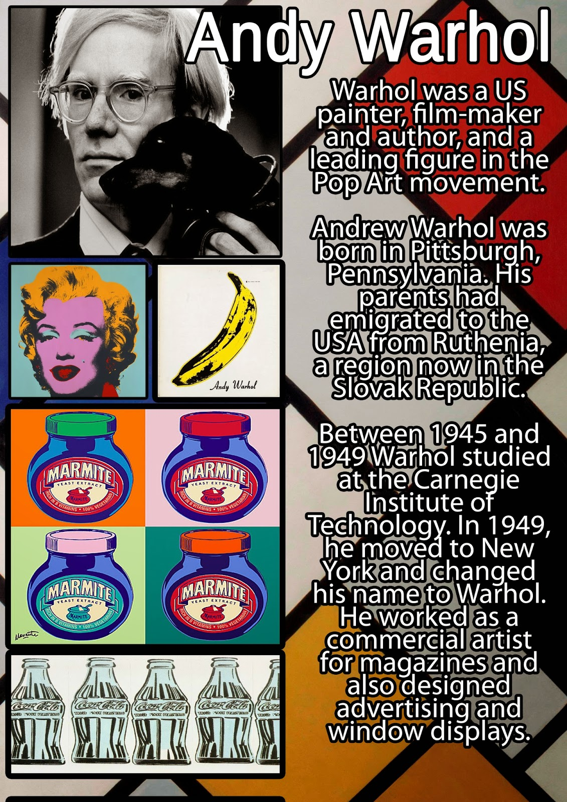 andy warhol research