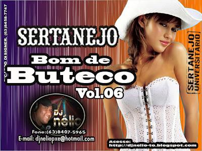 Sertanejo Bom de Buteco - Vol.06