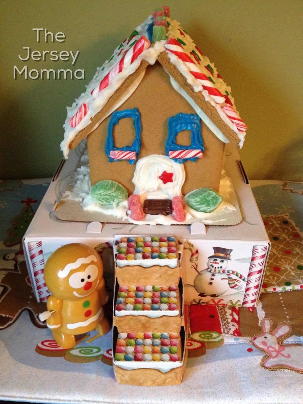 One Of Wiltonu0027s Pre Assembled Gingerbread House Kits   Not Always Easy To  Find!