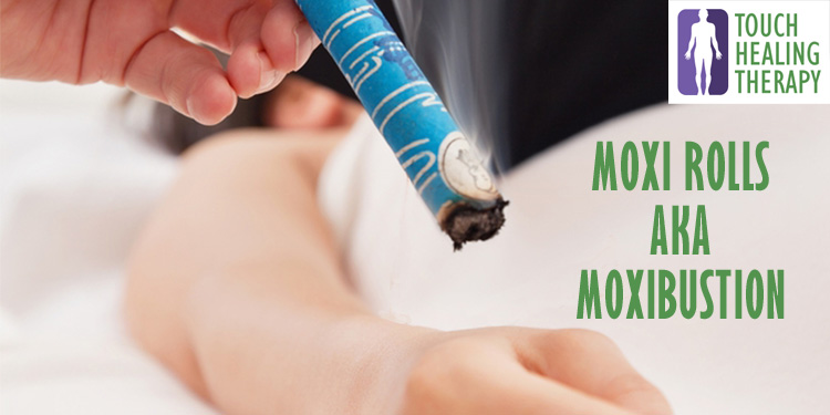 moxibustion or moxa rolls