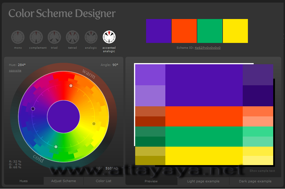 trend-color-scheme-designer trend warna