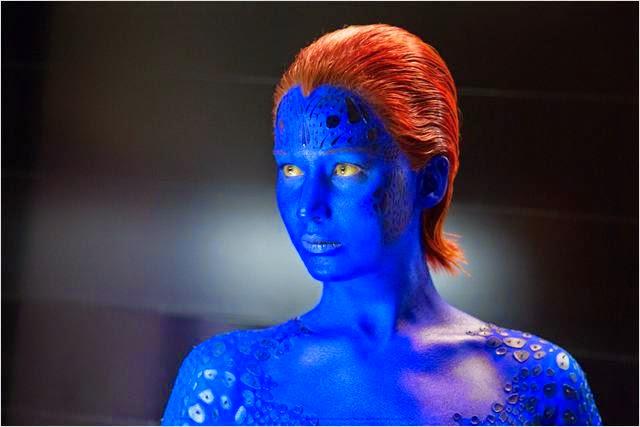 """Jennifer Lawrence es Mystica en """"X-Men: Días del Futuro Pasado"""""""